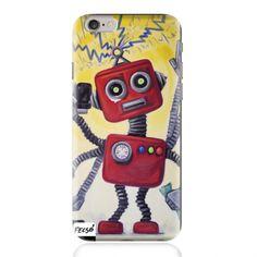 Művészi telefontok -Robot: UV led technológiával nyomtatott telefontok. A tok anyaga átlátszó kemény plasztik, de kérheted TPU puha tokra is. Fecsó Andi gyönyörű alkotása Robot címmel. Csodálatos kiegészítő a mindennapokra. Kérheted iPhone5/5S iPhone6/6S iPhone6 Plus... Laptop, Phone Cases, Led, Phone Case, Laptops, The Notebook