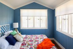 Holiday Home Reveal: Guest Bedroom (Zone - Photos - House Rules - Official site Queenslander House, Weatherboard House, The Rundown, Breezeway, House Rules, Home Bedroom, Sunroom, Home Renovation, 2 Photos