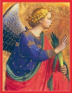 Heraldic Angel Holiday Drawer Box Cards