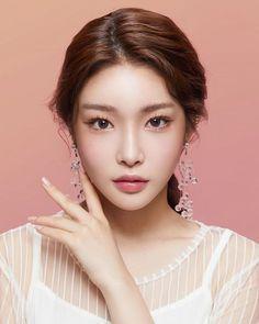 Pretty Natural Makeup Ideas For Any Season for Beginner Korean Makeup Look, Korean Beauty, Asian Beauty, Korean Natural Makeup, Korean Make Up, Korean Girl, Asian Girl, Beauty Makeup, Hair Beauty