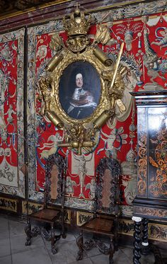 The Kings Chamber - Rosenborg Castle (Rosenborg Slot) is a renaissance castle located in Copenhagen, Denmark.