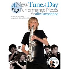 Music Sales A New Tune a Day - Pop Performances for Alto Saxophone Music Sales America Series Book with CD Alto Sax Sheet Music, Saxophone Music, Sheet Music Book, Acoustic Guitar Strap, Acoustic Guitar Lessons, Guitar Songs, Acoustic Guitars, Pop Songs, Music Songs