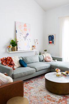 A Living Room Reno Update + The Weekly Edit - Sugar & Cloth #livingroom #homedecor #diy