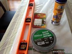 The Quilting Edge: Duct Tape......Who Knew!!!!/Design Wall Tutorial