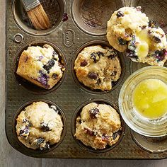 Uber-Berry Muffins From Better Homes and Gardens, ideas and improvement projects for your home and garden plus recipes and entertaining ideas.