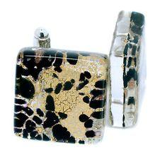 Murano Cufflinks ▷ 5.5£ | Dealsan Sterling Silver Cufflinks, Murano Glass, Flask, Auction