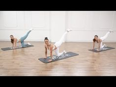 Victoria Sport Low-Impact Butt- and Abs-Toning Workout Fitness Workouts, Toning Workouts, At Home Workouts, Quick Workouts, Fitness Tips, Pilates Workout, Butt Workout, Hiit, Victoria Secret Workout