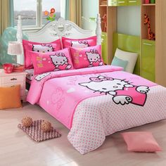 38 Best Bedding Images Hello Kitty Bedding Hello Kitty Bedroom