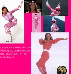 Amy Jo Johnson as Kimberly Hart aka Pink Ranger.
