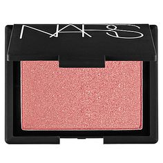 NARS - Blush - Super Orgasm - peachy pink with gold glitter #sephora
