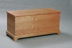 Seneca Blanket Chest by Tim Wells: Wood Blanket Chest available at www.artfulhome.com