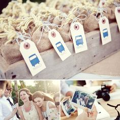 The Happy Bride: Wedding pegs