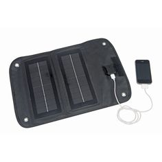 solar charge an iphone and other gadgets while camping or traveling. i need this! THUNDERBOLT MAGNUM SOLAR 60449 5 Watt Foldable Solar Panel Charger at Harbor Freight.