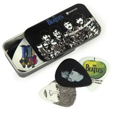 Planet Waves Beatles Signature Guitar Pick Tins, Sgt. Peppers Planet Waves