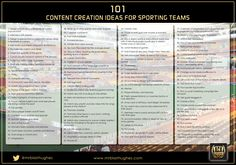 101 Fan Engagement Ideas Sporting Teams   Blair Hughes