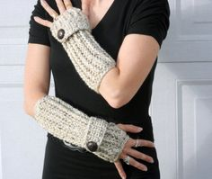 speckled sand long ribbed with wrist strap by ValkinThreads, $26.00