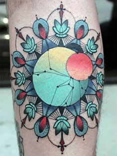 "Apparently from ""geometric 25 Trippy Geometric Tattoos (Photo Gallery)""?"