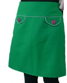 I can add pockets onto the skirt pattern I already have.
