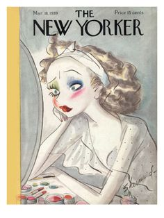 The New Yorker Cover - March 18, 1939 Giclee Print by Barbara Shermund at Art.com