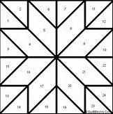Printable Star Quilt Block Patterns - Bing Images