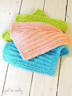 Farmhouse Kitchen Knitted Dishcloths