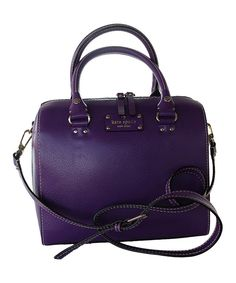 This Plumberry Alessa Wellesley Satchel by Kate Spade is perfect! #zulilyfinds