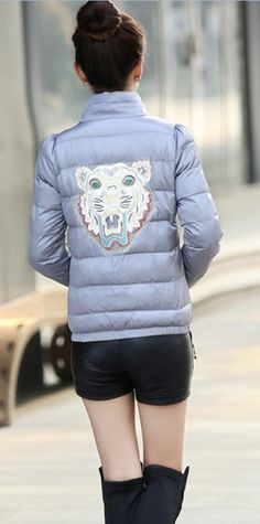 Star and Lion Print Down Jacket YRB0385 £35.00