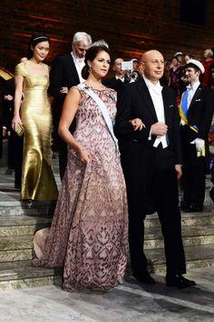 royalwatcher:  Nobel Prize Ceremony, Stockholm, Sweden, December 10, 2014-Princess Madeleine