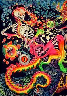 La expansión Psicodélica: Los Hippies | Marihuana | Psiconáutica