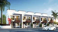 We are expert in architectural rendering, walkthrough, architecural visualization, animation, interior design and realistic rendering. Row House Design, Duplex House Design, Townhouse Exterior, Modern Townhouse, Modern Bungalow House, Small Modern Home, House Elevation, New House Plans, Industrial House