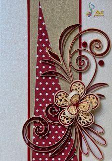 Neli Quilling Art: Quilling small cards - ( 7.4 cm - 10.5 cm )