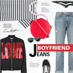 Borrowed from the Boys: Boyfriend Jeans