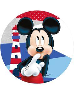 Disco ázimo Mickey™ 14.5 cm: Este disco de ázimo é sob licença oficial de Mickey™. Ele mede a volta de 14.5 cm de diâmetro. O disco de ázimo representa o famoso...