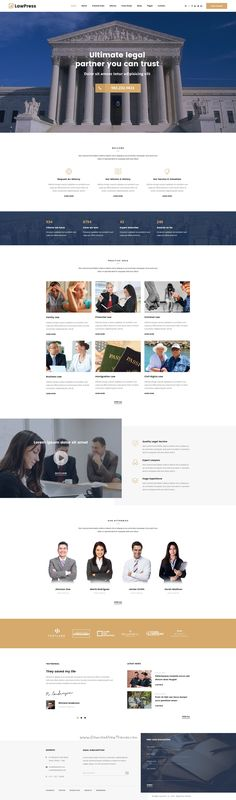 LawPress is a creative, stylish, good looking #PSD template for #legal #agency website with 5 stunning homepage layouts and 22+ organized PSD pages download now➯ https://themeforest.net/item/lawpress-creative-website-template-for-law-lawyer-attorney-and-legal-agency/17017535?ref=Datasata