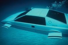 James Bond Lotus Esprit Submarine Car (NEED)  A fully-functioning submarine car...And yes, it does actually work.