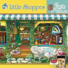 Antiques Etc 750 Piece New Jigsaw Puzzle in Toys & Hobbies, Puzzles, Contemporary Puzzles | eBay