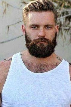 Hairy Hunks, Hairy Men, Bearded Men, Mens Hairstyles With Beard, Haircuts For Men, Scruffy Men, Awesome Beards, Beard Balm, Gorgeous Guys