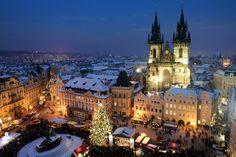République Tchèque : Comment visiter Prague en 3/4 jours sans se ruiner ? Vue de stare mesto @OTourDuMonde