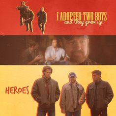 Bobby raised heroes. I was sobbing during this part!