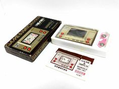 Nintendo Game & Watch Gold Manhole MH-06 Boxed Great Condition Free Postage | JPEGbay.com