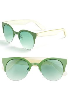 "Love these ""color of the year"" sunnies with a great 60's vibe! FE NY 'Cool Cat' Sunglasses @Nordstrom"