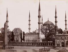 Atmeydanı ve Sultan Ahmet Camii Basile Kargopoulo Fotoğrafı 1875