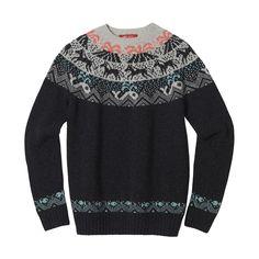 Knitwear – Vik sweater charcoal