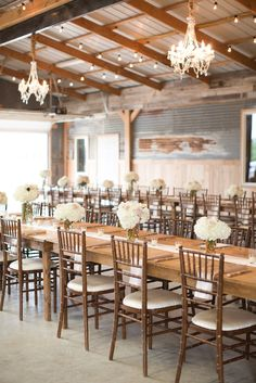 Love the refined rustic setting! View the full wedding here: - See more at: http://thedailywedding.com/2015/11/29/texas-ranch-wedding-vanessa-matthew/