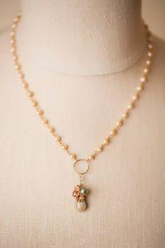 Homemade Necklaces, Homemade Jewelry, Diy Necklace Making, Jewelry Making, Handmade Beaded Jewelry, Pearl Jewelry, Wire Jewelry, Jewellery, Birthstone Jewelry