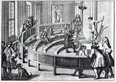 Life drawing class, 1739