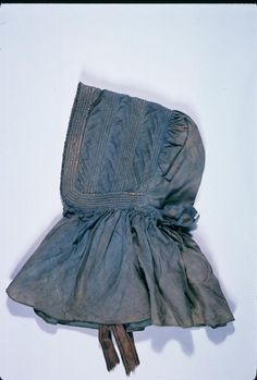 White Black Calico Satin Special Occasion Pioneer Colonial Bonnet Soft Sturdy Cotton LADIES SUNBONNET
