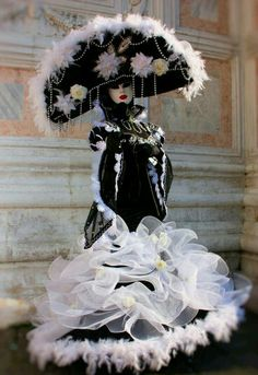 Venetian masquerade costumes and masks