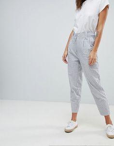 Y.A.S | Y.A.S - Pantalon de costume d'été à rayures (partie d'un ensemble)
