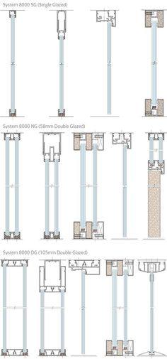 Frameless glazing detail image search results buda bulunamayan Detail Architecture, Plans Architecture, Architecture Student, Interior Architecture, Drawing Architecture, Architecture Portfolio, Window Detail, Door Detail, Curtain Wall Detail